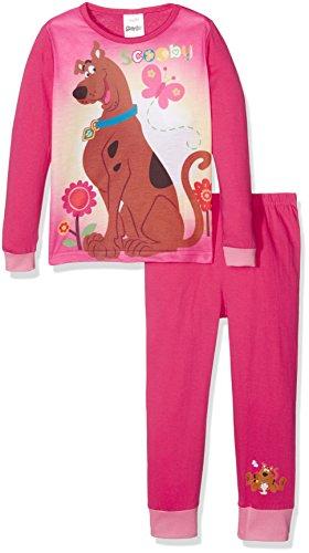 Zweiteiliger Schlafanzug Official, Mehrfarbig (Multicoloured), 3-4 Jahre (Herstellergröße: 3-4 Years) (Mädchen In Scooby Doo)