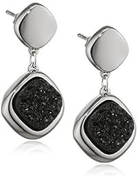 Breil Pendientes Moonrock Negro