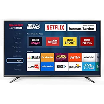 Sharp LC-55CUG8362KS 55-Inch Ultra HD 4K LED Smart TV with