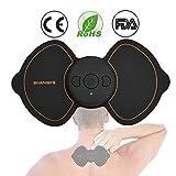 électrostimulateur TENS, OUZIGRT Stimulateur Musculaire pour Soulager des Douleurs, Massages, pour Le Dos, Le Traitement du Cou Soins de kinésithérapie, 5 Modes et 7 Niveaux de Force Optionnels