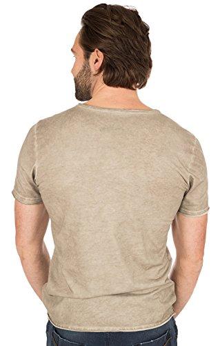 MarJo Trachten T-Shirt M69 - Berg Strawanza brau, 2XL - 3