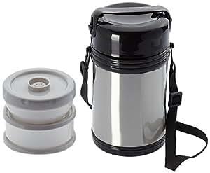 Warimex 13566 contenitori termici in acciaio inox con 3 for Contenitori termici per alimenti