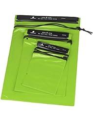 meyfdsyf 3pcs PVC deportes al aire libre viaje Simple estilo de la cámara impermeable teléfono móvil bolsa bolsa seca