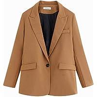 W-C Blazer de Bolsillo de Moda, Color de Foto, M