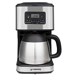 grossag KA 47.17 Kaffeeautomat mit Timer und Thermokanne / 8 Tassen / 1,2l / 900 Watt