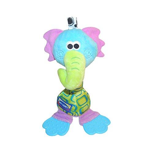 Baby Bucket Soft Baby Toys Elephant Hanging Rattles