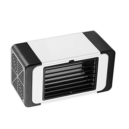 Mamum neuer USB Mini-Luftkühler Haushalts-Desktop-Computer Kleiner Lüfter Mute Refrigeration (Schwarz) (Kleinen Computer-lüfter)