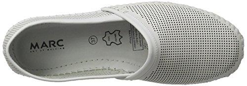 Marc Shoes Luna, Espadrilles femme Weiß (Weiß-205)