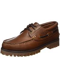 USG Scarpe da barca, marrone scuro (Brown), 46