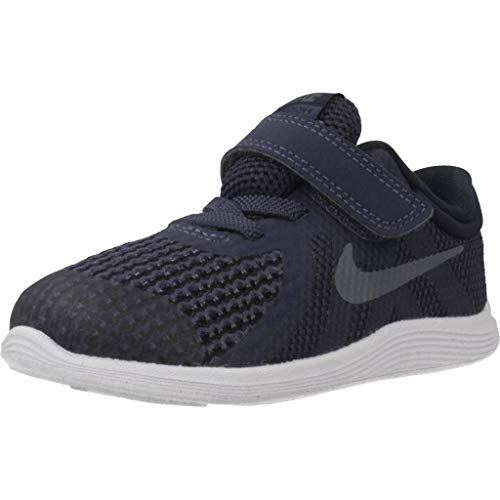 Nike calzature sportive bambino, color nero, marca, modelo calzature sportive bambino revolution 4 nero