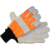 The Handy hp-105 m Tronçonneuse Taille M Gants – Orange