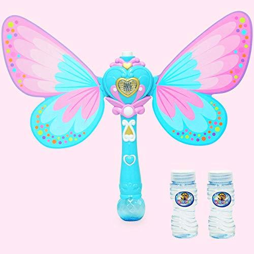 Yvonnezhang Musik Flash Stick Fairy Magic Bubble Stick Musik Flash Stick Automatische Blasen Bubble Machine @ 2 (Halloween-musik-aktivitäten Für Kindergarten)