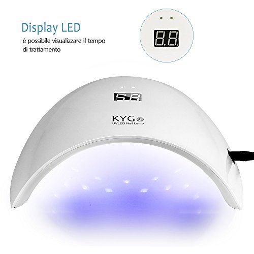 Zoom IMG-3 kyg lampada uv led professionale