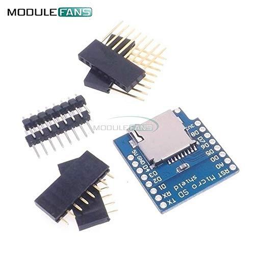 Micro-SD-Karten Schild für WeMos D1 Mini TF WiFi ESP8266 kompatibles SD-Wireless-Modul für Arduino für WeMos D1 Mini
