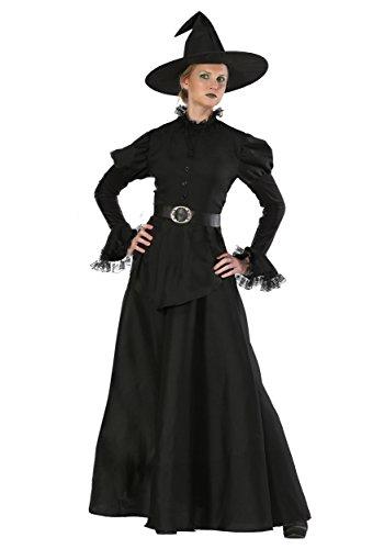 Klassische Schwarze Hexe Plus Size Damen Kostüm - - Klassische Hexe Für Erwachsene Plus Kostüm