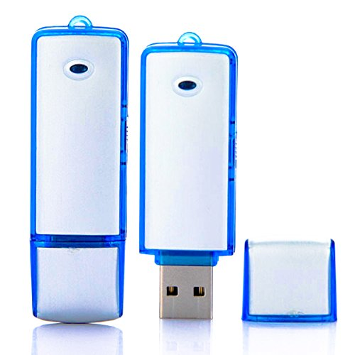 Registratore vocale audio 8gb spia cimice spy pendrive voice recorder mini micro pen drive