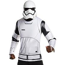 Rubie 's 810840oficial de Star Wars Stormtrooper camiseta y máscara para adulto (estándar)