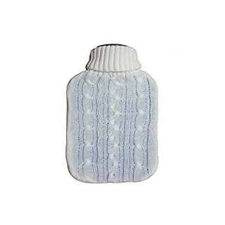 Hongxin LAttice 2L Hot Water Bottle With Knitted Cover,Full Size
