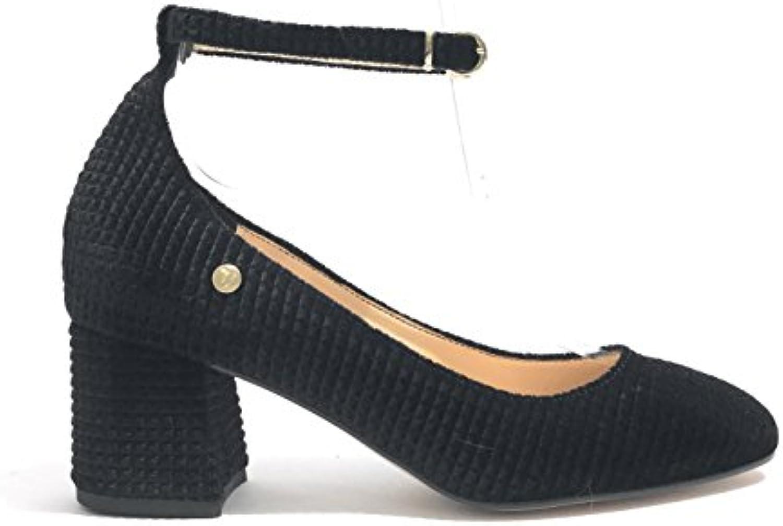 Trussardi Jeans Scarpe Donna Decollete Decollete Decollete TC 50 Velluto Nero D18TJ01   Elevata Sicurezza    Gentiluomo/Signora Scarpa  b09a20