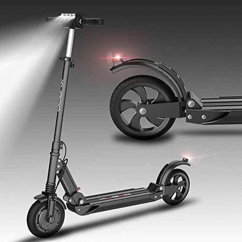 Monopattino Pieghevole Scooter Elettrico per Adulti, Batteria a Lunga autonomia da 20 km, velocità Massima 15km/h, Pneumatici Pneumatici 8' Semplice e trasportare Portatile pendolarismo Scoot