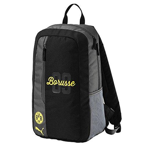 Puma BVB Fanwear Rucksack, Cyber Yellow Black, 49x32x4 cm (18 Findet Tops)