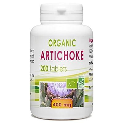 Artichoke 200 organic tablets 400 mg by Bio Atlantic