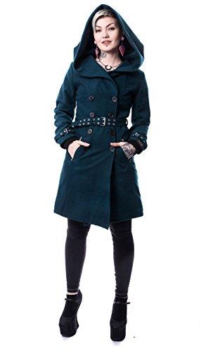 Vixxsin -  Cappotto  - Maniche lunghe  - Donna nero L