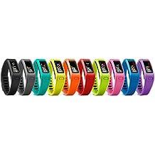 HopCentury - Banda de repuesto para Garmin Vivofit, con cierre de seguridad, hebilla de metal–Tamaño pequeño o Grande, Pure Kit (10pcs), large