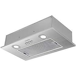CIARRA Hotte Intégrée Groupe filtrant - 300 m³/h - Evacuation - 3 Vitesses - LED Eclairage - Inox