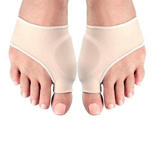 1 Paar Zehenspreizer Fußbandage Hallux Valgus Ballenschutz Reibungsschutz