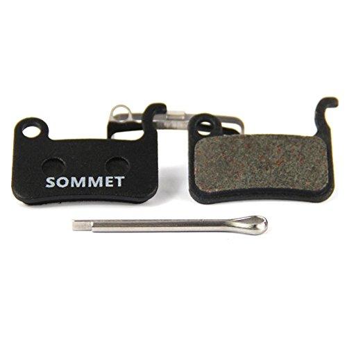 SOMMET Fahrrad Scheibenbremsbeläge für Shimano XTR M975 M966 M965/XT M775 M776 M765/SLX M665/Deore M596 M595 M545 M535 M505/LX M585/Hone M601/SAINT M800/BR-R505 S501 S500 T665 T605 ZSP08-1