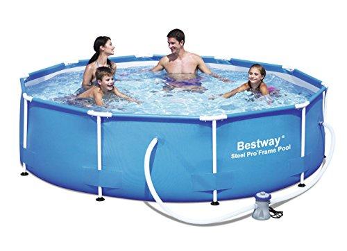 "Bestway 56059 Frame Pool ""Steel Pro"" Set mit Filterpumpe 305 x 76cm"
