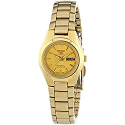 Seiko Women's Automatic Watch Analogue Display and Stainless Steel Strap SYMC18K1