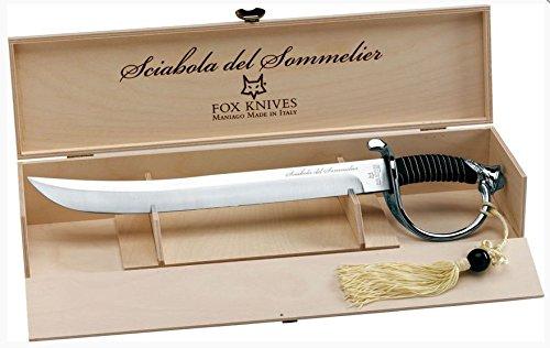FOX - Champagner Säbel für Sommelier - Bronze griff