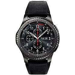 "Samsung Gear S3 Frontier - Smartwatch Tizen (pantalla 1.3"" Super AMOLED 360x360, GPS integrado, batería 380 mAh, altavoz integrado), color Gris (Space Gray)- Version española"
