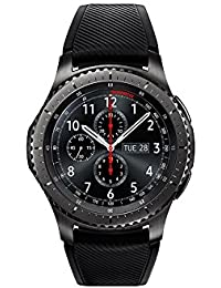 "Samsung Gear S3 Frontier - Smartwatch Tizen (pantalla 1.3"" Super AMOLED 360x360, GPS integrado, batería 380 mAh, altavoz integrado), color negro"