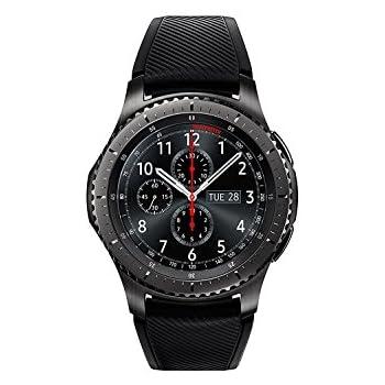 "Samsung Gear S3 Frontier - Smartwatch Tizen (pantalla 1.3"" Super AMOLED 360x360, GPS integrado, batería 380 mAh, altavoz integrado), color negro"