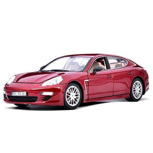 Alloy Car Model - Erwachsene Kollektion/Kinderspielzeug, 1:18 Druckguss Geschenk/Dekoration, Geschenkverpackung,Red