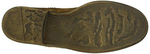 Unbekannt - Stiefelette, Stivali bassi con imbottitura leggera Donna Marrone (Braun (330 Oak))