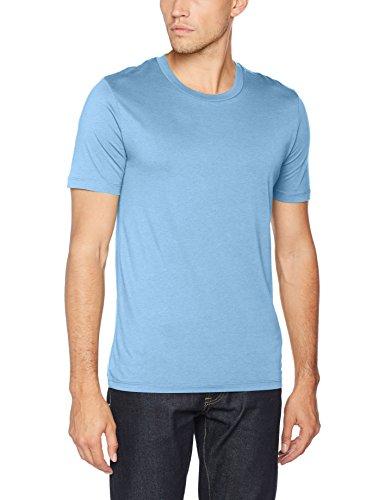 SELECTED HOMME Herren T-Shirt Shdtheperfect SS O-Neck Tee NOOS Blau (Blue Shadow)