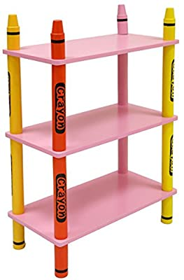 Bebe Style Children's Wooden 3 Tiered Shelves_p