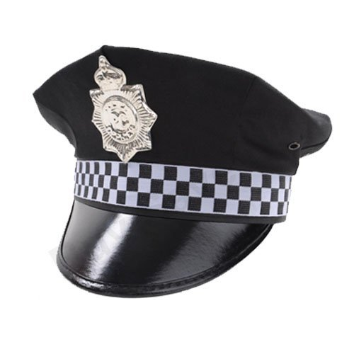 Childrens Kids Boys Police Policeman Hat Cap Fancy...