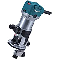 Makita RT0700CX4 240 V Router/Trimmer Plus Bases - Blue