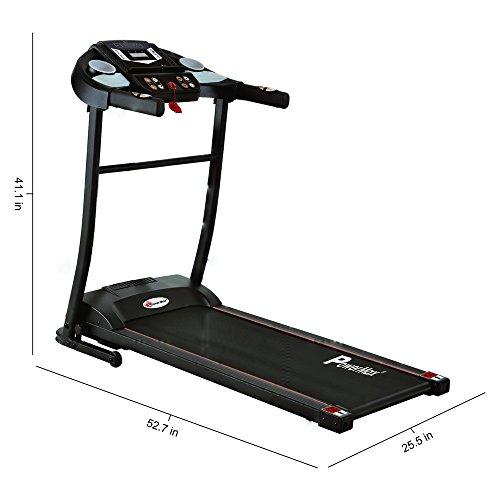Powermax Fitness TDM-97 1.0 HP (2 HP peak) Motorized Treadmill