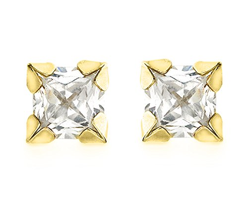 carissima-gold-9ct-yellow-gold-4mm-square-cubic-zirconia-stud-earrings