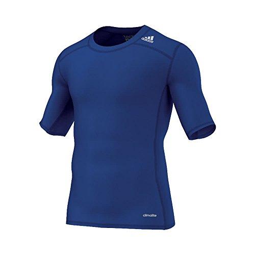 adidas Herren Training Techfit Base T-Shirt, Croyal, 3XL, AJ4971 (Tee Sleeve Climalite Adidas Short)