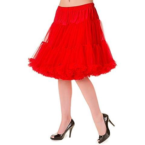 Petticoat zwart - Vintage Retro (Increspato Petticoat)