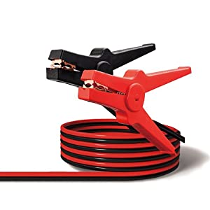 Pinzas para arranque y cargar baterias de coche de 3.5m de largo, hasta 350 Amperios, norma DIN 72553-25, con bolsa de…
