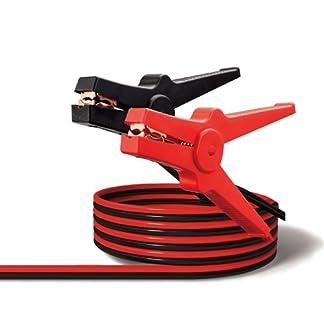 Pinzas para arranque y cargar baterias de coche de 3.5m de largo, hasta 350 Amperios, norma DIN 72553-25, con bolsa de transporte