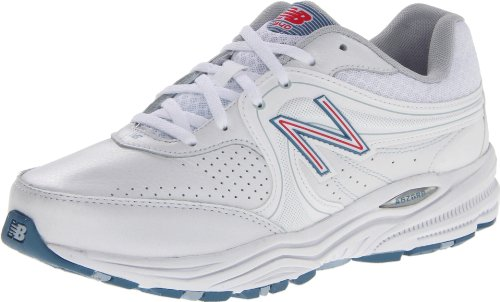 New Balance - - Damen 840 Motion-Control-Walking-Schuhe, EUR: 37.5 EUR - Width D, White with Pink -